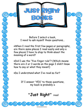 Selecting Books Mini-Lesson