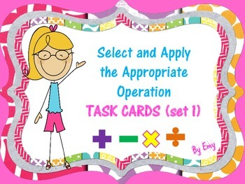Selecting and Applying the Appropriate Operation (set 1)