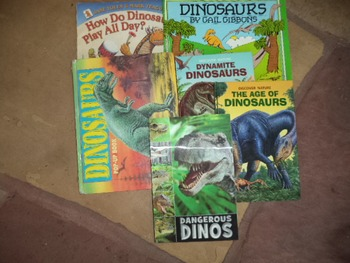 Selection of Dinosaur Books       (set of 6)