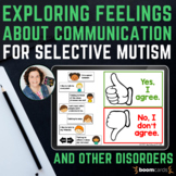 Selective Mutism & other Speech Disorders | Boom Cards for
