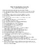 Selena Higher Order Thinking Skills Packet
