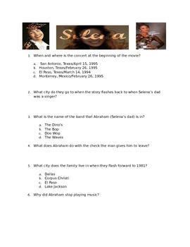 Selena - Movie Guide