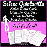 Selena Movie Guide and Vocabulary Activities