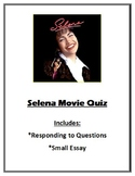 Selena Movie Quiz (or watch guide)