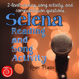 Selena Reading and Music Pack (featuring Bidi Bidi Bom Bom)