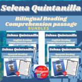 Selena Quintanilla Bilingual Reading Comprehension Activit