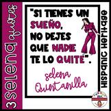 Selena Quintanilla Bulletin Board SPANISH