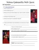 Selena Quintanilla Web Quest