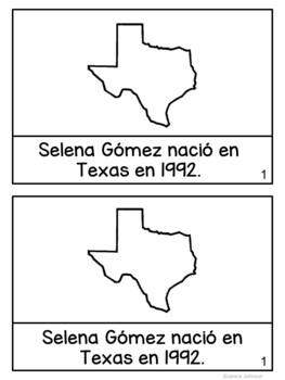Selena Readers {Hispanic Heritage Month} Bilingual Bundle