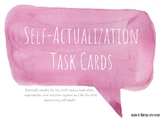 Self-Actualization Task Cards