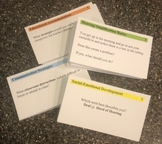 Self-Advocacy 101 – CATEGORY CARDS (Deaf/Hard of Hearing Resource)