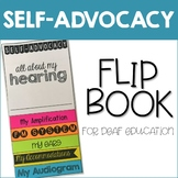 Self-Advocacy Flip Book for Deaf Education Editable