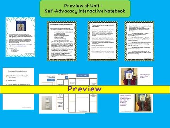 Self-Advocacy Interactive Notebook for Kids with Hearing Loss