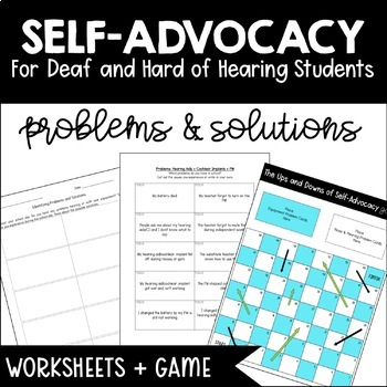 Self-Advocacy: Problems and Solutions for Deaf and Hard of Hearing Students