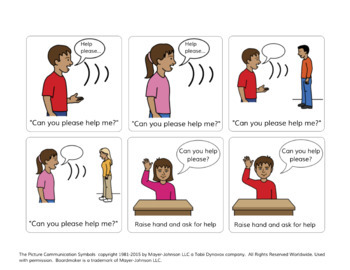 Self-Advocacy Visuals and Social Story - Autism - Ask For Help