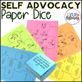 Self Advocacy for Deaf & Hard of Hearing | Paper Dice
