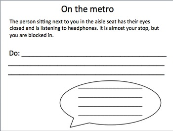 Self-Advocacy for Teens, Young Adults, and Adults - Settings: Metro and Work