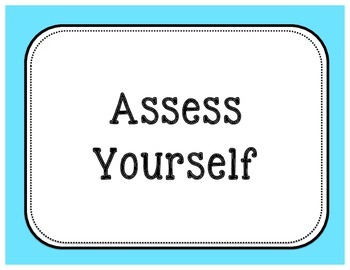 Self-Asessment: Student Evaluation