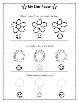 Self-Assess Coloring Guide