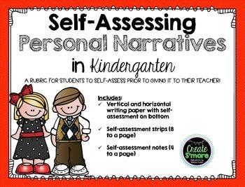 Self-Assessing Personal Narratives