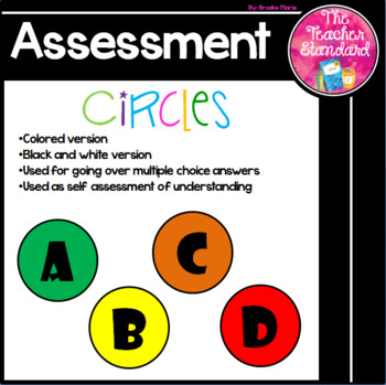 Self Assessment Circles