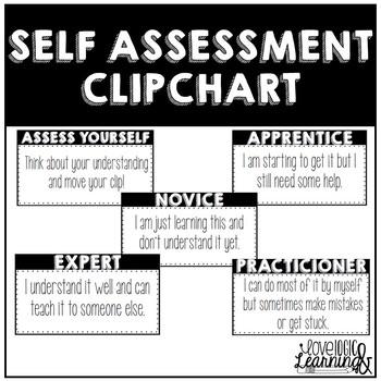 Self Assessment Clip Chart