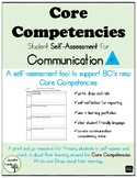 Self-Assessment: Communication Core Competency BC Curriculum