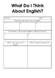 Self Assessment English