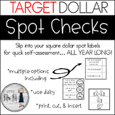 Self-Assessment Inserts - Perfect for Target Dollar Spot A