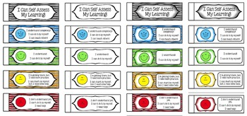Self-Assessment Learning Cards!