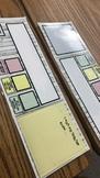 Self Assessment Name Plates (Wooden Themed) EDITABLE
