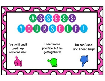 Self-Assessment Poster