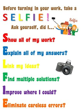 Self Assessment Poster