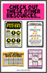 Self-Assessment Poster (Middle School Posters)