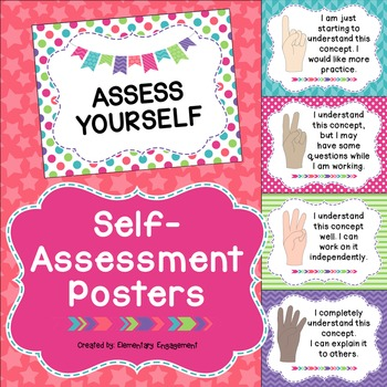 Self-Assessment Posters
