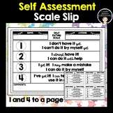Self Assessment (Rating) Scale Slips
