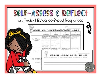 Self-Assessment  & Reflection for Textual Evidence-Based R