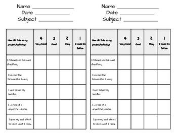 Self Assessment Rubric By Tammy Perroth Teachers Pay Teachers Ten years of bizarre self assessment excuses and expenses. self assessment rubric