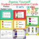 Self-Assessment Student Communication Cards 8 sets