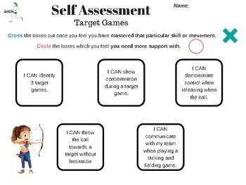 Self Assessment - TGFU