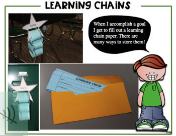 Self Assessment Tool- Posters, Bin Labels, Learning Chains, and more...