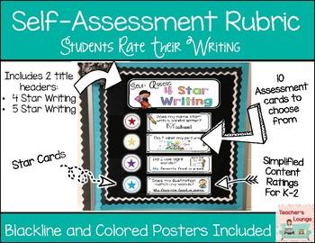 Self Assessment Writing Rubric
