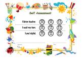 Self Assessment for kindergartener / pre-schooler.