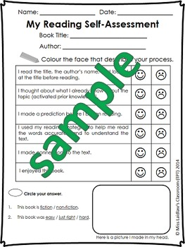 Self-Assessments & Checklists: Reading, Writing, Speaking, Listening (American)