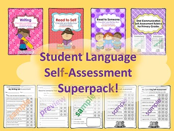 Self-Assessments & Checklists: Reading, Writing, Speaking, Listening (Canadian)