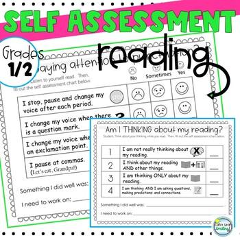 Self Assessment for Reading ~ Self Assessment 2nd Grade