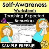 Self-Awareness Interactive Worksheets Social Emotional Lea