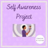 Self Awareness Project for PE, Health, & Wellness