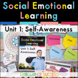 Self-Awareness Social Emotional Learning Unit - Distance Learning