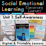 Self-Awareness Social Emotional Learning Unit for Elementary